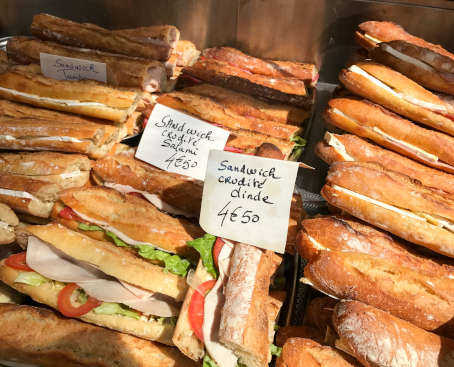 snack sandwich amiens